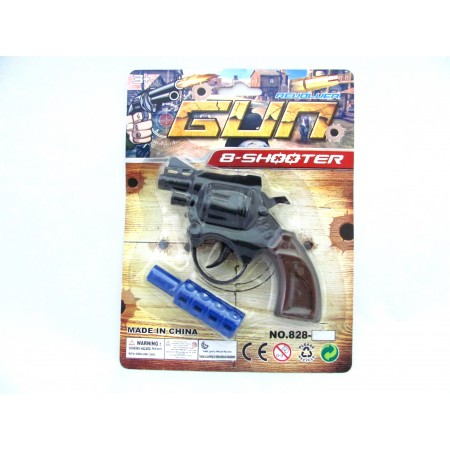 Pistolet na spłonkę tłumik