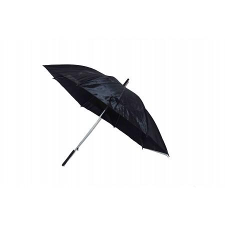 Parasol jedwab czarny