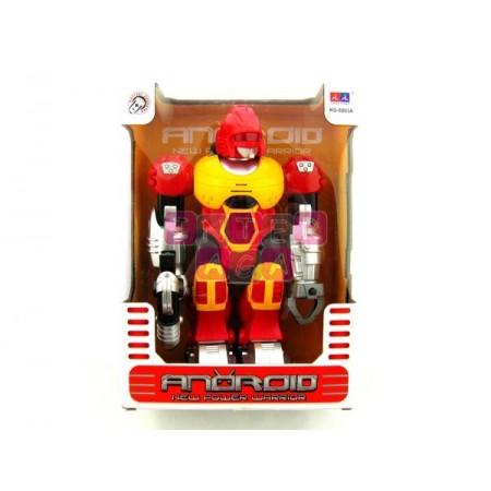 Robot b/o czerwony