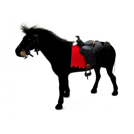Koń flokowany