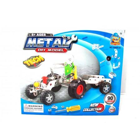 Klocki metalowe traktor 90el.