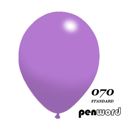 "Balon standard 10"" fioletowy 100szt."