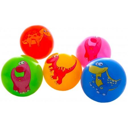 Piłka gumowa dinozaury