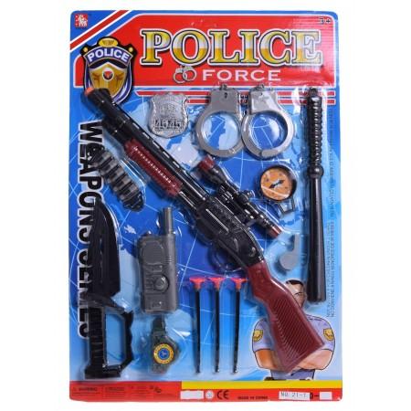 Zestaw policyjny z karabinem