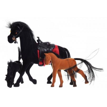 Rodzina koni flokowana