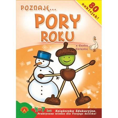 Książeczka edukacyjna Poznaję pory roku