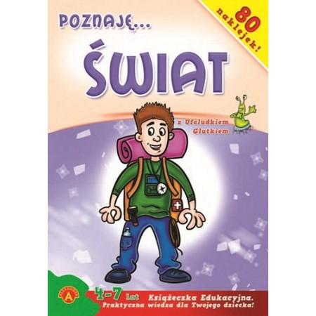 Książeczka edukacyjna Poznaję świat