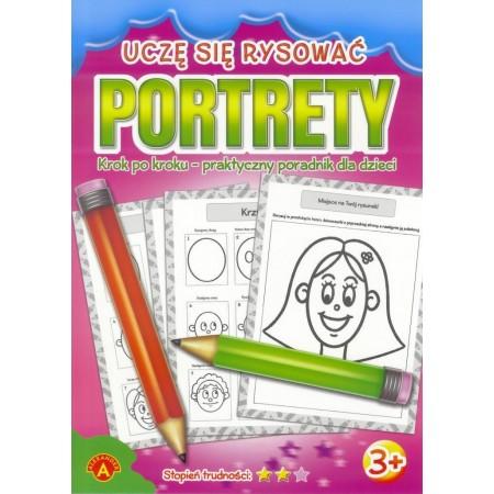 Książeczka Uczę się rysować portrety