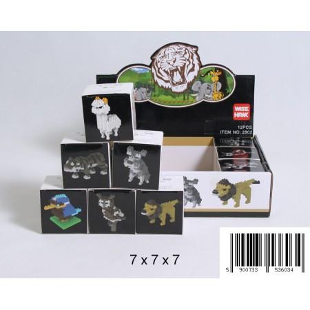 Klocki 3D zwierzęta