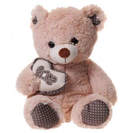 Miś z serduszkiem Lovely Bear
