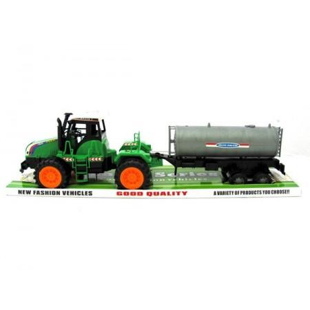 Traktor z beczką duży
