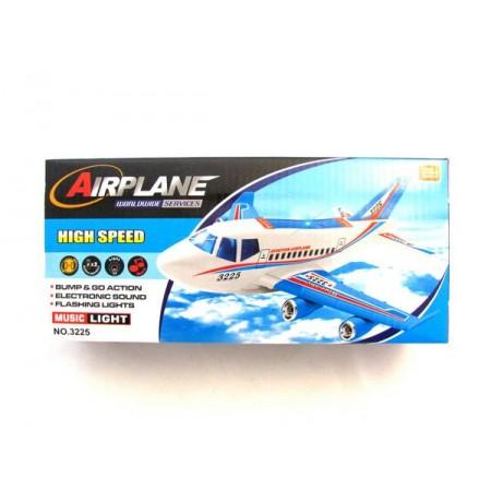 Samolot światło dźwięk