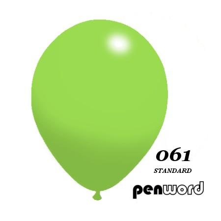"""Balon standard 10"""" zielony 100szt."""