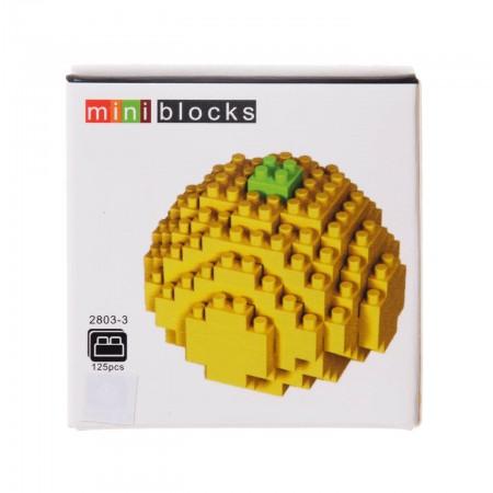 Klocki 3D owoce