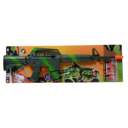 Karabin M16 maszynowy terkotka