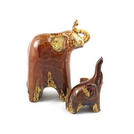 Słonie porcelanowe