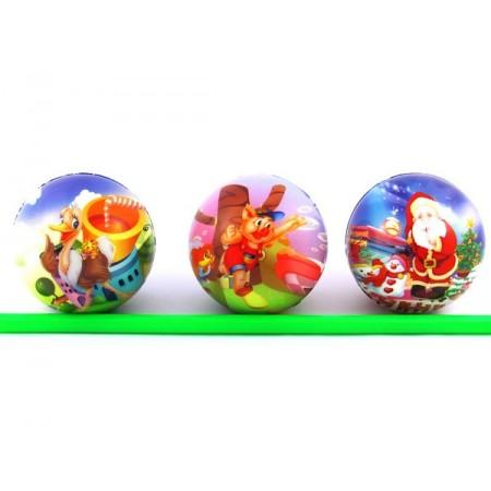 Piłka z gąbki miękka 10 cm