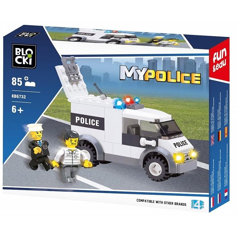 Klocki Blocki policja 85el.