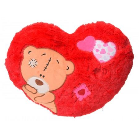 Serce czerwone Miś duże Walentynki