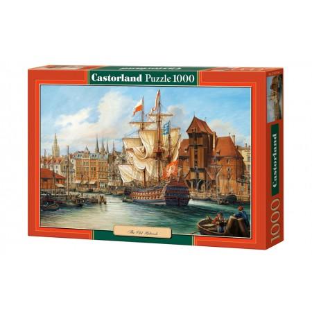 Puzzle 1000 el. Cofy of: The Old Gdańsk -  Malowany Gdańsk przed laty