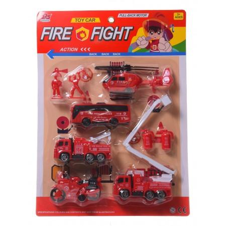 Autka strażackie