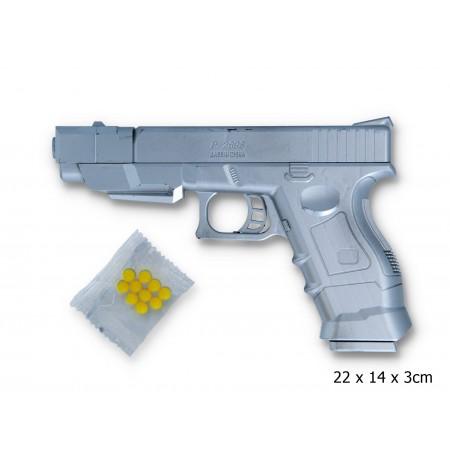Pistolet kulki laser latarka