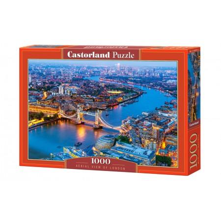 Puzzle 1000 el. Aerial View of London - Wodok z lotu ptaka na Londyn
