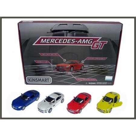 Auto metal Mercedes AMG GT