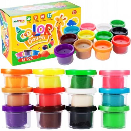 Ciastolina 12 kolorów