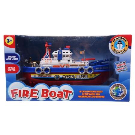 Łódka strażacka światło dźwięk